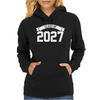 Class of 2027 Novelty High School Elementary Womens Hoodie