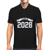 Class of 2028 Novelty High School Elementary Mens Polo