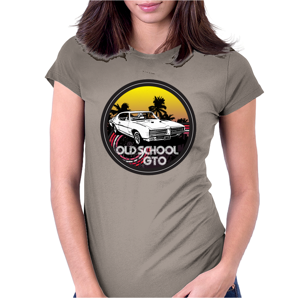 Classic Car Collection - GTO Womens Fitted T-Shirt