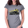 Classic Car Collection - Hot Rod Low Roder Womens Fitted T-Shirt