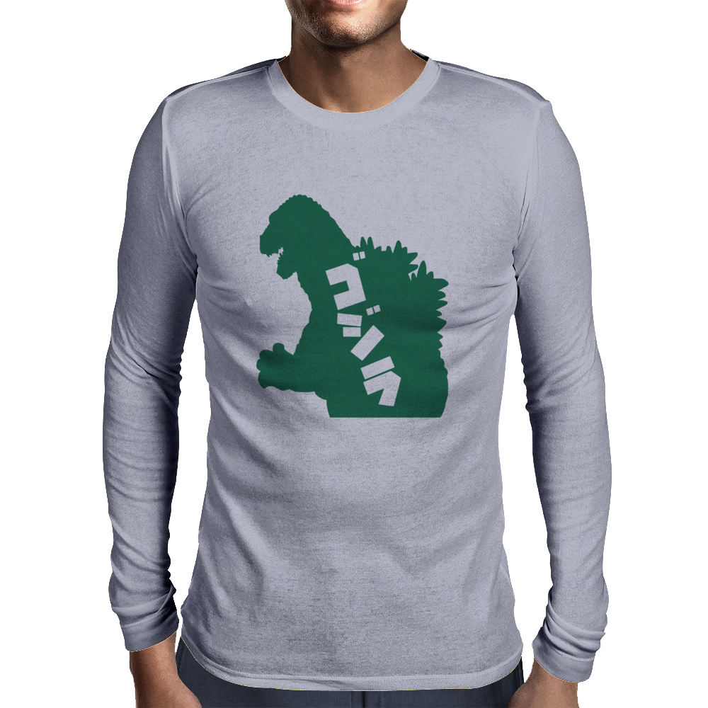 Classic Godzilla Alternate Mens Long Sleeve T-Shirt