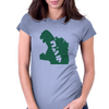 Classic Godzilla Alternate Womens Fitted T-Shirt