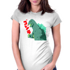 Classic Godzilla Womens Fitted T-Shirt