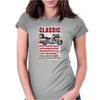 Classic Honda Goldwing Funny Ideal Birthday Gift or Present Womens Fitted T-Shirt