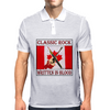 Classic Rock-Written In Blood Mens Polo