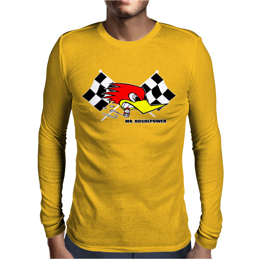 Clay Smith Mr Horsepower Mens Long Sleeve T-Shirt