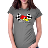 Clay Smith Mr Horsepower Womens Fitted T-Shirt