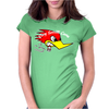 Clay Smith Racing Vintage Greaser Womens Fitted T-Shirt