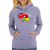 Clay Smith Racing Vintage Greaser Womens Hoodie