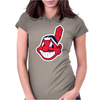 Cleveland Indians Womens Fitted T-Shirt