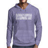 Cleverly Disguised As A Responsible Mens Hoodie