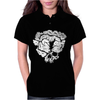Clicker Skull Womens Polo