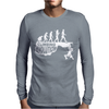 Climbing Evolution Mens Long Sleeve T-Shirt