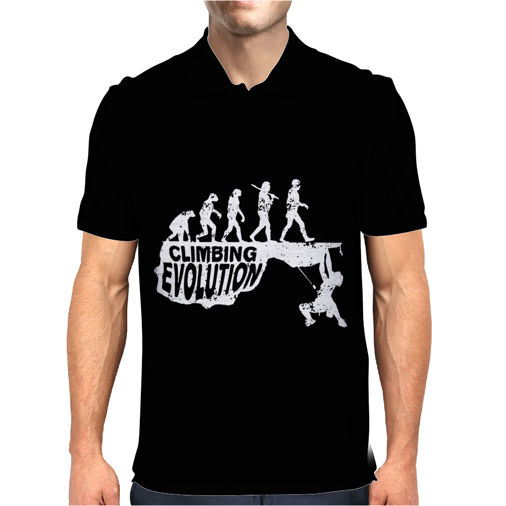 Climbing Evolution Mens Polo