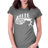 Climbing Evolution Womens Fitted T-Shirt