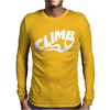 Climbing Mens Long Sleeve T-Shirt