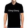 Cling Clang Funny Mens Polo