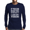 cloak Mens Long Sleeve T-Shirt
