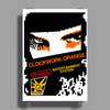 CLOCKWORK ORANGE Poster Print (Portrait)