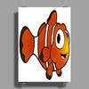 Clown Fish Poster Print (Portrait)