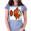 Clown Fish Womens Fitted T-Shirt