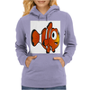 Clown Fish Womens Hoodie