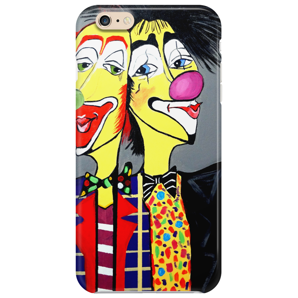 CLOWN    TWO HEADS ARE BETTER THEN ONE Phone Case