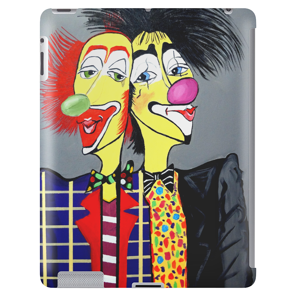 CLOWN    TWO HEADS ARE BETTER THEN ONE Tablet (vertical)