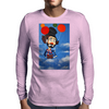 CLOWN   UP UP AND AWAY Mens Long Sleeve T-Shirt