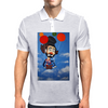 CLOWN   UP UP AND AWAY Mens Polo