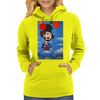 CLOWN   UP UP AND AWAY Womens Hoodie