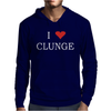 Clunge Funny Mens Hoodie
