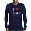 Clunge Funny Mens Long Sleeve T-Shirt