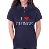 Clunge Funny Womens Polo