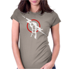Cm Punk Lighting Rod Womens Fitted T-Shirt