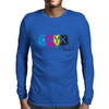 CMYK Mens Long Sleeve T-Shirt