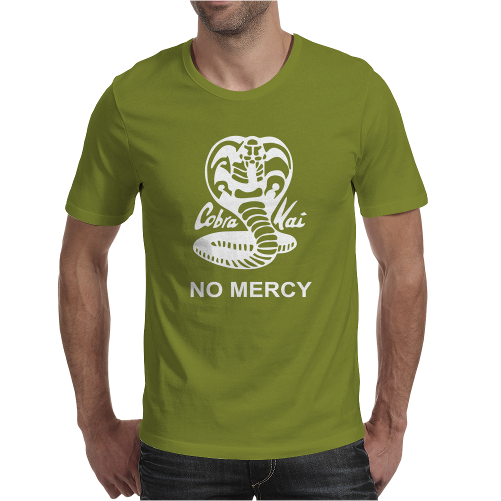 Cobra Kai NO MERCY Mens T-Shirt