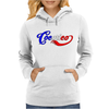Cocorico, Go France ! Womens Hoodie