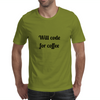 Code for coffee Mens T-Shirt