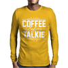 Coffee Before Talkie funny Mens Long Sleeve T-Shirt