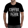 Coffee Before Talkie funny Mens T-Shirt
