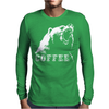 Coffee Roar Mens Long Sleeve T-Shirt