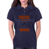 COFFEE WILL GIVE YOU WINGS Womens Polo