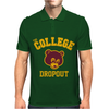 College Dropout Mens Polo