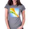 Colofrul Abstract Womens Fitted T-Shirt