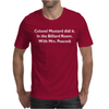 Colonel Mustard Clue Billiard Funny Mens T-Shirt