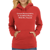 Colonel Mustard Clue Billiard Funny Womens Hoodie