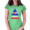 Colorado Rockies Womens Fitted T-Shirt