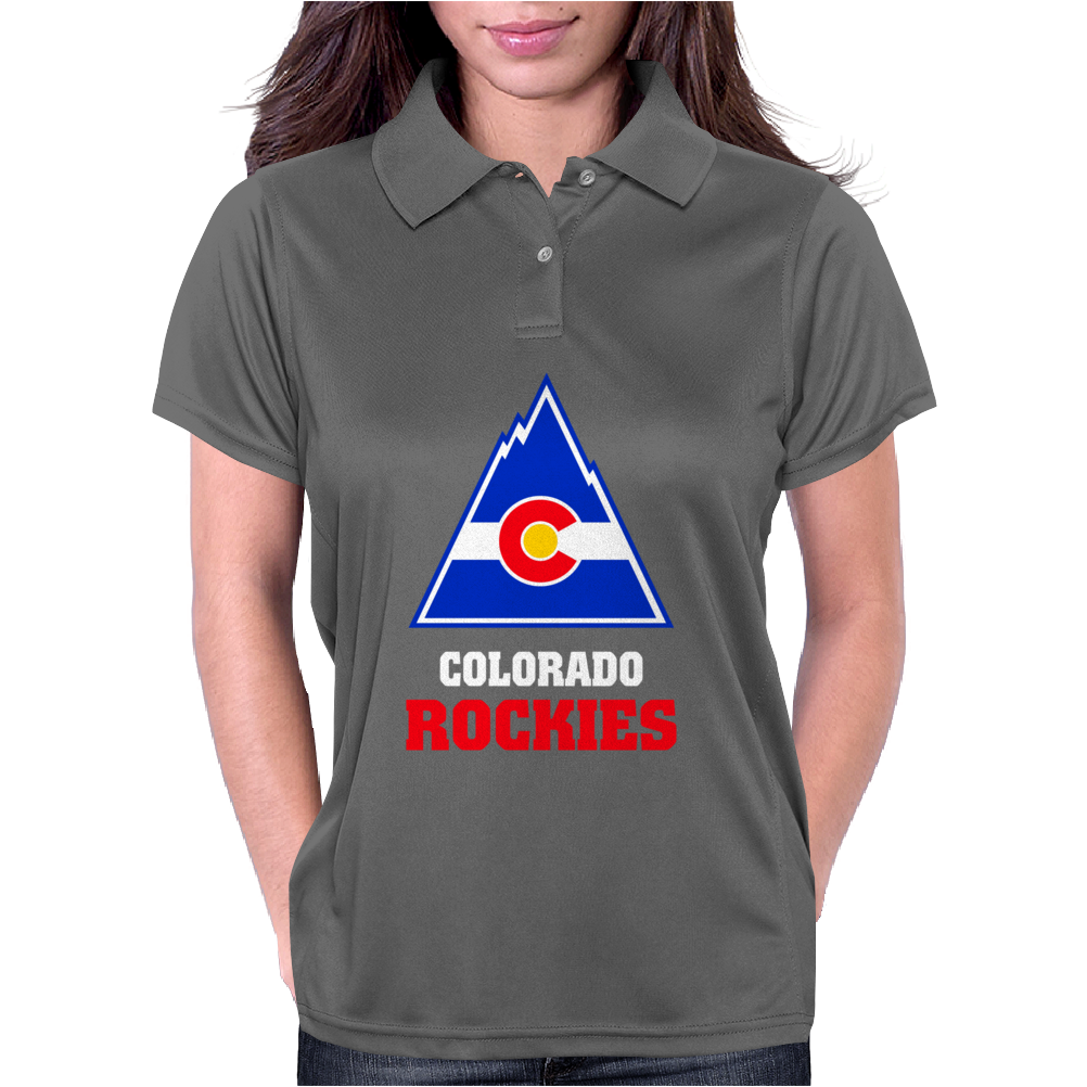 Colorado Rockies Womens Polo