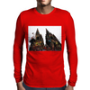 colored dome Mens Long Sleeve T-Shirt